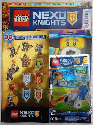 LEGO Nexo Knights Magazine Issue 06