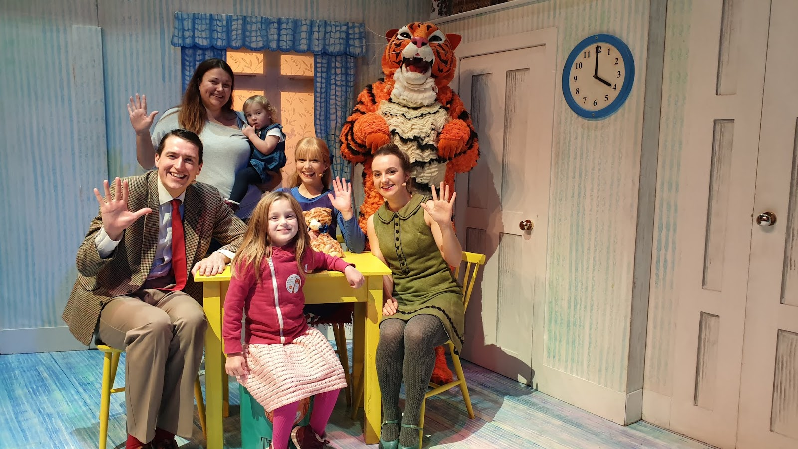 meeting the cast of tiger who came to tea
