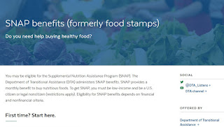 You may be eligible for SNAP benefits