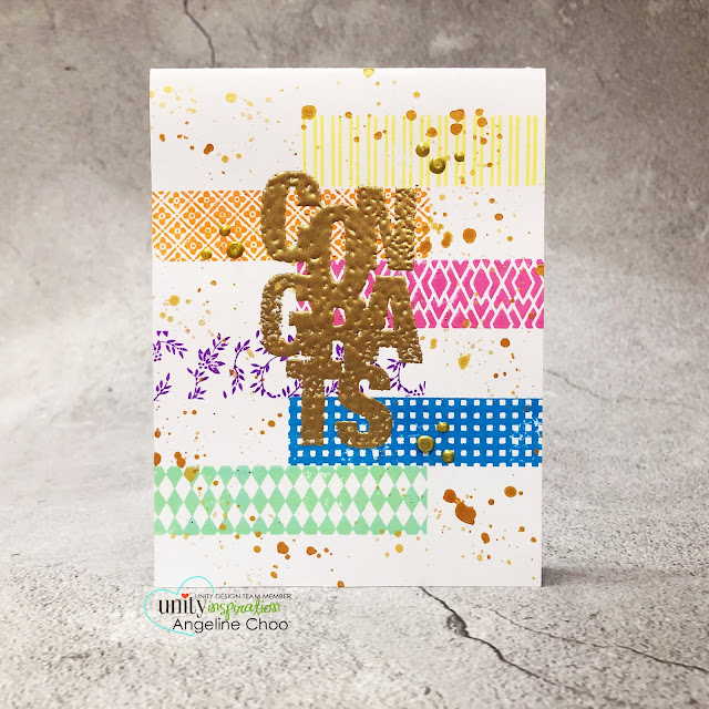 ScrappyScrappy: Unity Stamp Ann Butler Background Builders  #scrappyscrappy #unitystampco #annbutler #backgroundbuilders #cardmaking #card #papercraft #stamping #youtube #quicktipvideo #quiltpattern #backgroundstamp #washitapestamp #stampingplatform #timholtz #distressoxideinks #sentimentkit #gansaitambi #starrycolors #nuvodrops #wowultrahighembossing #sayitbig