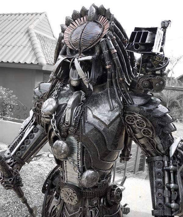 Depredador de metal