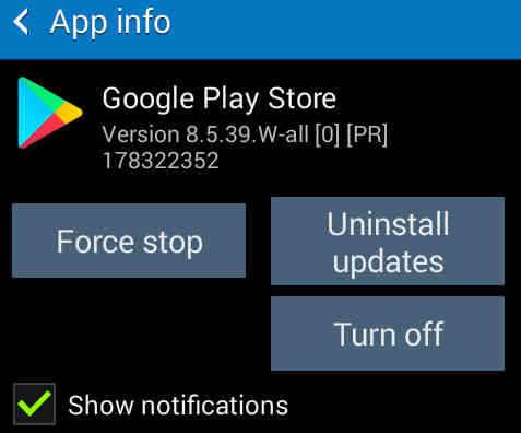 install ulang cara Mengatasi Google Play Store Keluar Sendiri Force Close