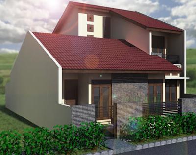 gambar atap rumah minimalis bersusun 2