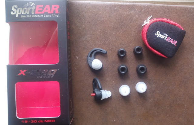 X-Pro Hearing Protection Ear Plugs Alongside Push-Click Valves Past Times Prosounds Sportear