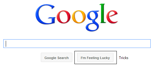 Google - I'm Feeling Lucky