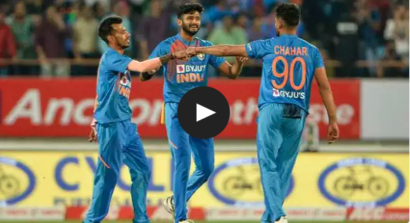 Watch India vs Bangladesh : India win the series by 2-1, Deepak Chahar became the first Indian bowler to take a hat-trick in T20I