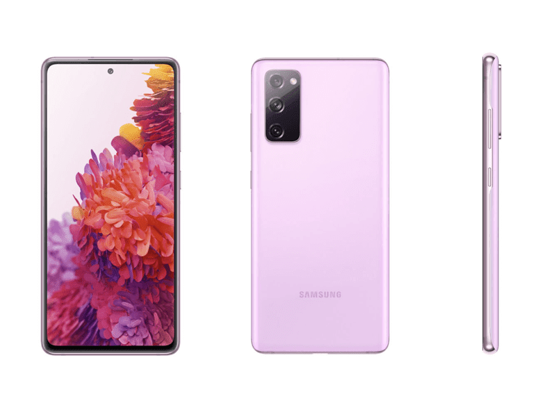 Alleged Samsung Galaxy S20 Fan Edition in Cloud Lavender