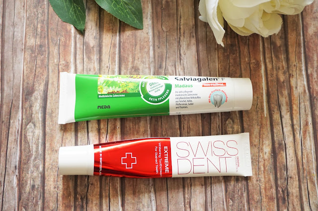 Madaus - Salviagalen F        Swiss Dent - Extreme Whitening Toothpaste