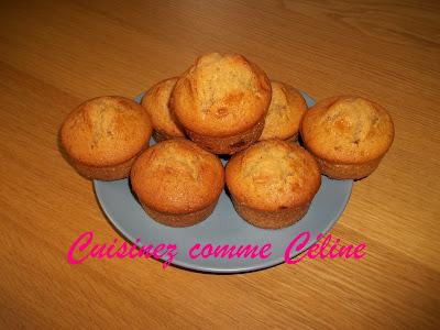 muffin chocolat caramel