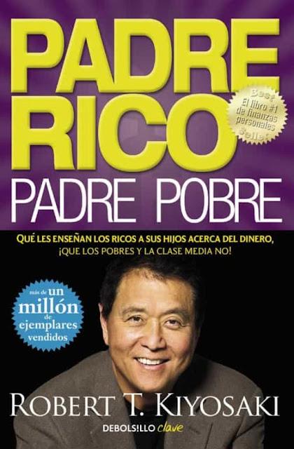 Padre rico, padre pobre portada del libro