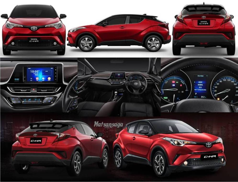 Spesifikasi Toyota All New C HR
