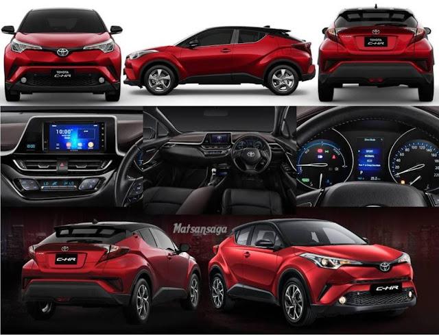 Spesifikasi Toyota All New C HR