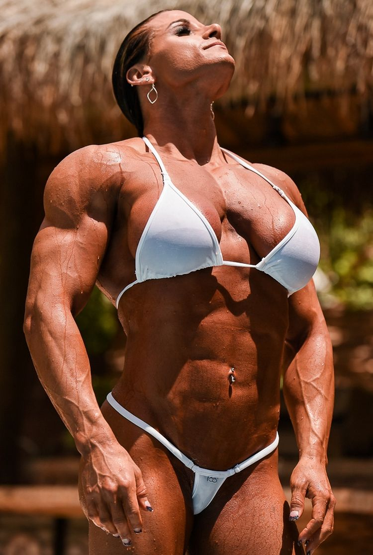 Female bodybuilder stronger than husband - Theresa Ivancik