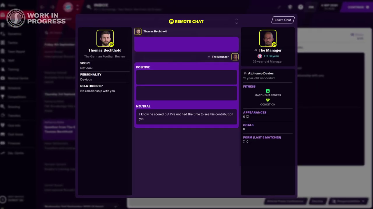 Football Manager 2021 | New Features | Remote Chats| FM21