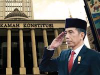 Presiden Jokowidodo Ingatkan Semua Pihak Untuk Tidak Merendahkan Mahkamah Konstitusi