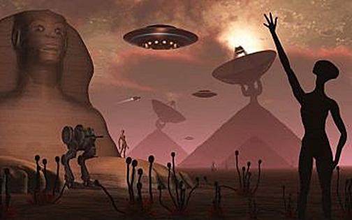 Bu Eserleri Uzaylılar Mı Yaptı?