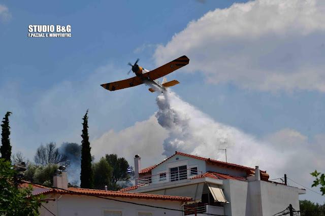 Υπό έλεγχο στο Ναύπλιο η πυρκαγιά