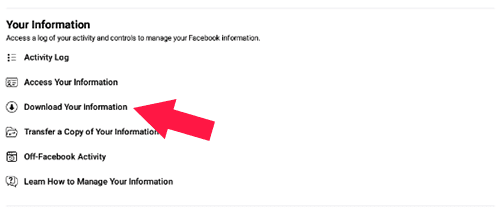 How to Restore Deleted Facebook Posts With Data Backup Via mobile
