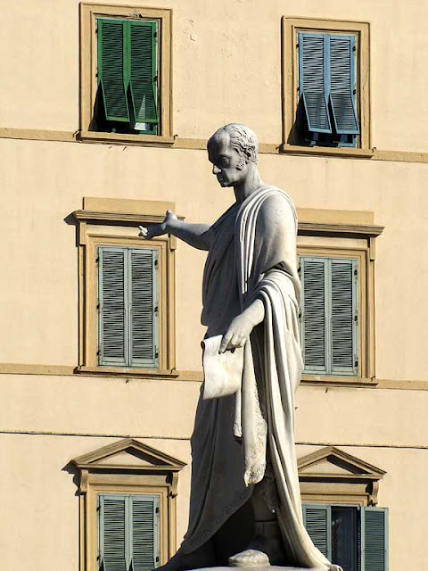 Ferdinand III, Grand Duke of Tuscany, by the sculptor Francesco Pozzi, Livorno