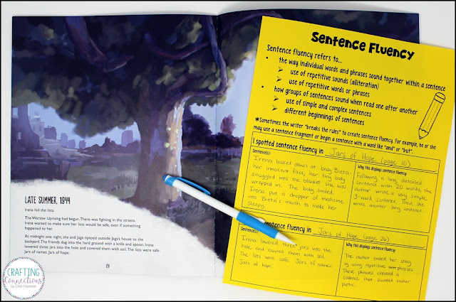 Sentence fluency is a challenging writing trait to teach. Check out this blog post that features a sentence fluency lesson complete with a mentor text and a FREE handout!