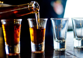 Alcohol-high in uric acid