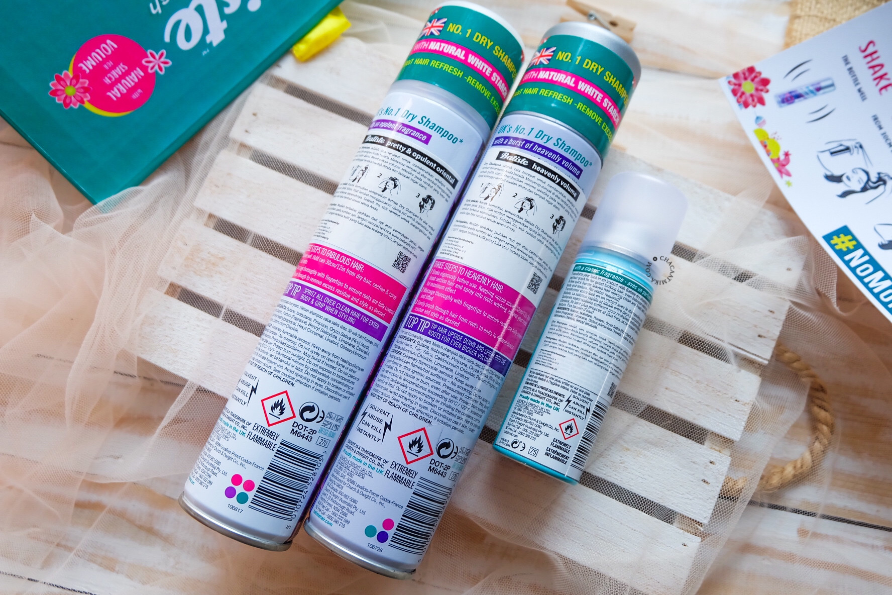 [Review] Batiste Dry Shampoo, Solusi Buat Rambut Lepek
