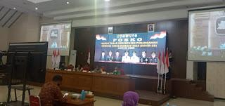 Wabup Jember Ikuti Teleconference dengan Presiden Joko Widodo dari Banyuwanngi