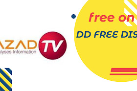 Azad a brand new Hindi entertainment TV channel launched on DD Free dish