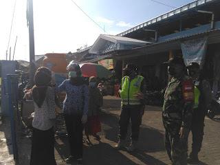 Penegakan Disiplin Protokol Kesehatan di Wilayah Koramil Bantaran