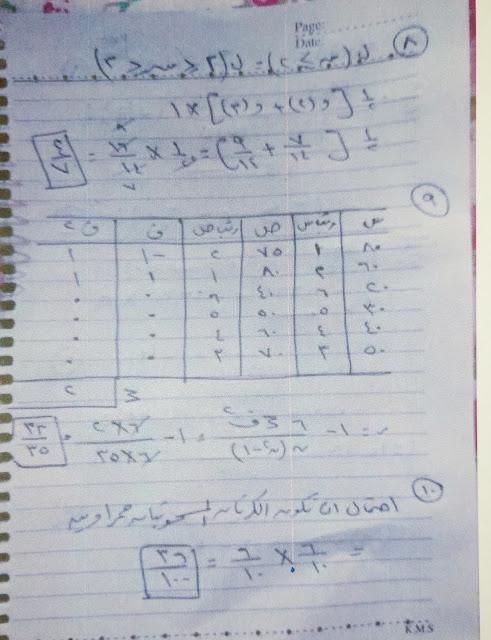 امتحانات المواد التي لا تضاف للمجموع بالاجابات النموذجيه - اقتصاد - احصاء - تربيه دينيه - تربية وطنيه | اجيال الاندلس