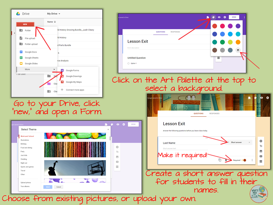 Google Classroom Hack #3: Formative Assessment with Forms ...