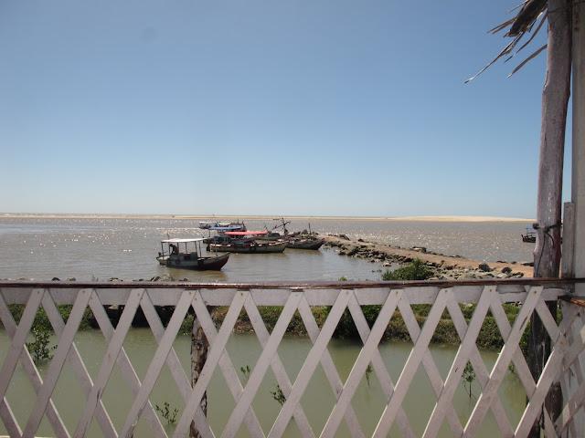Praia da Raposa, na ilha de São Luis, na Rota das Emoções