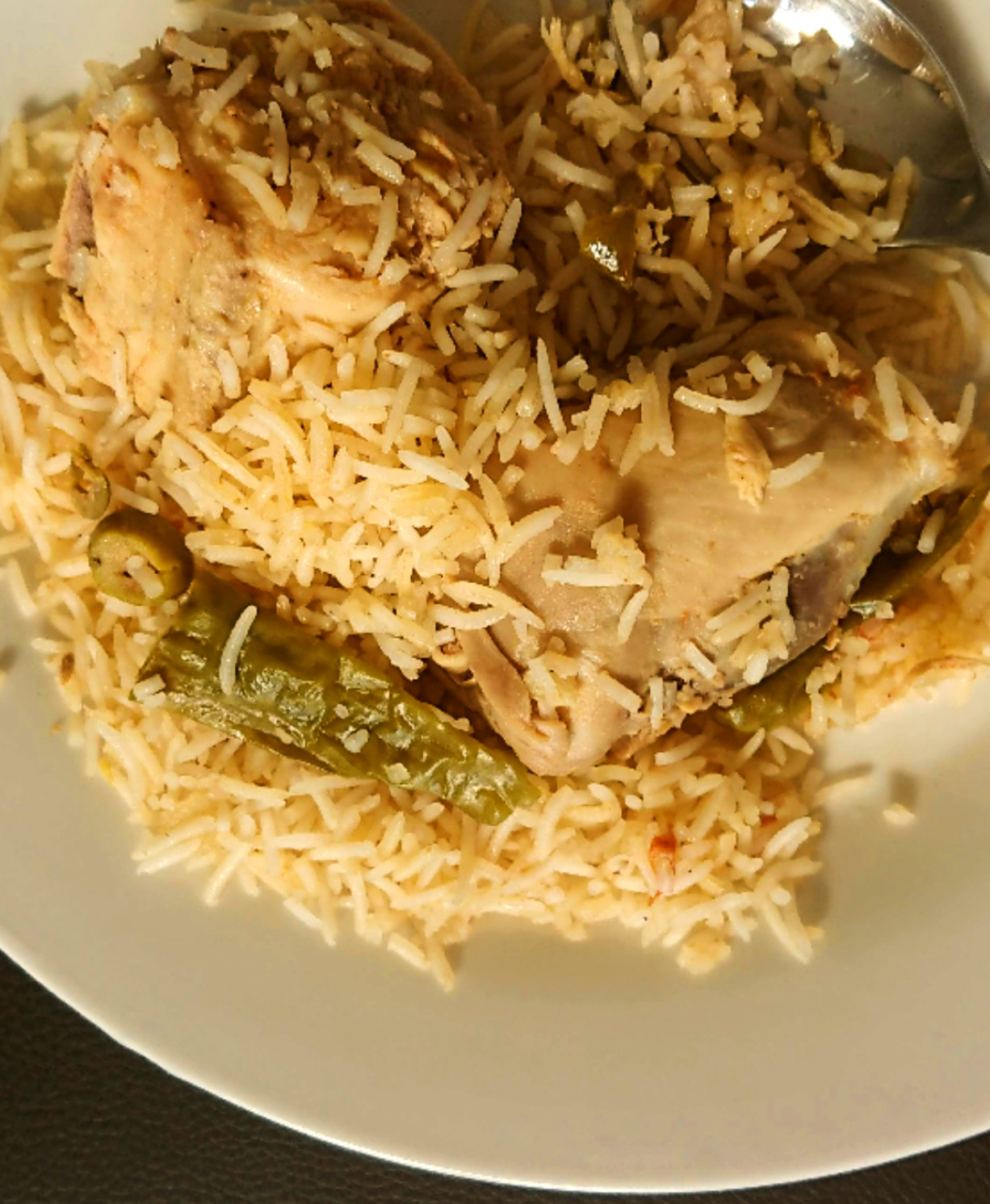 Chicken Zaytoon (Olive) Rice
