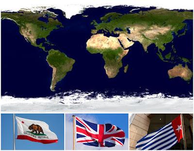 Pejuang Papua Merdeka yang Tinggal di Inggris dan Amerika Serikat Tidak Belajar dari BREXIT dan CALEXIT