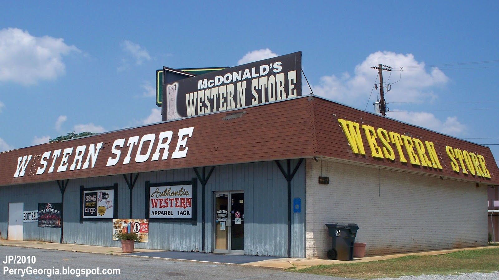 Western clothes store