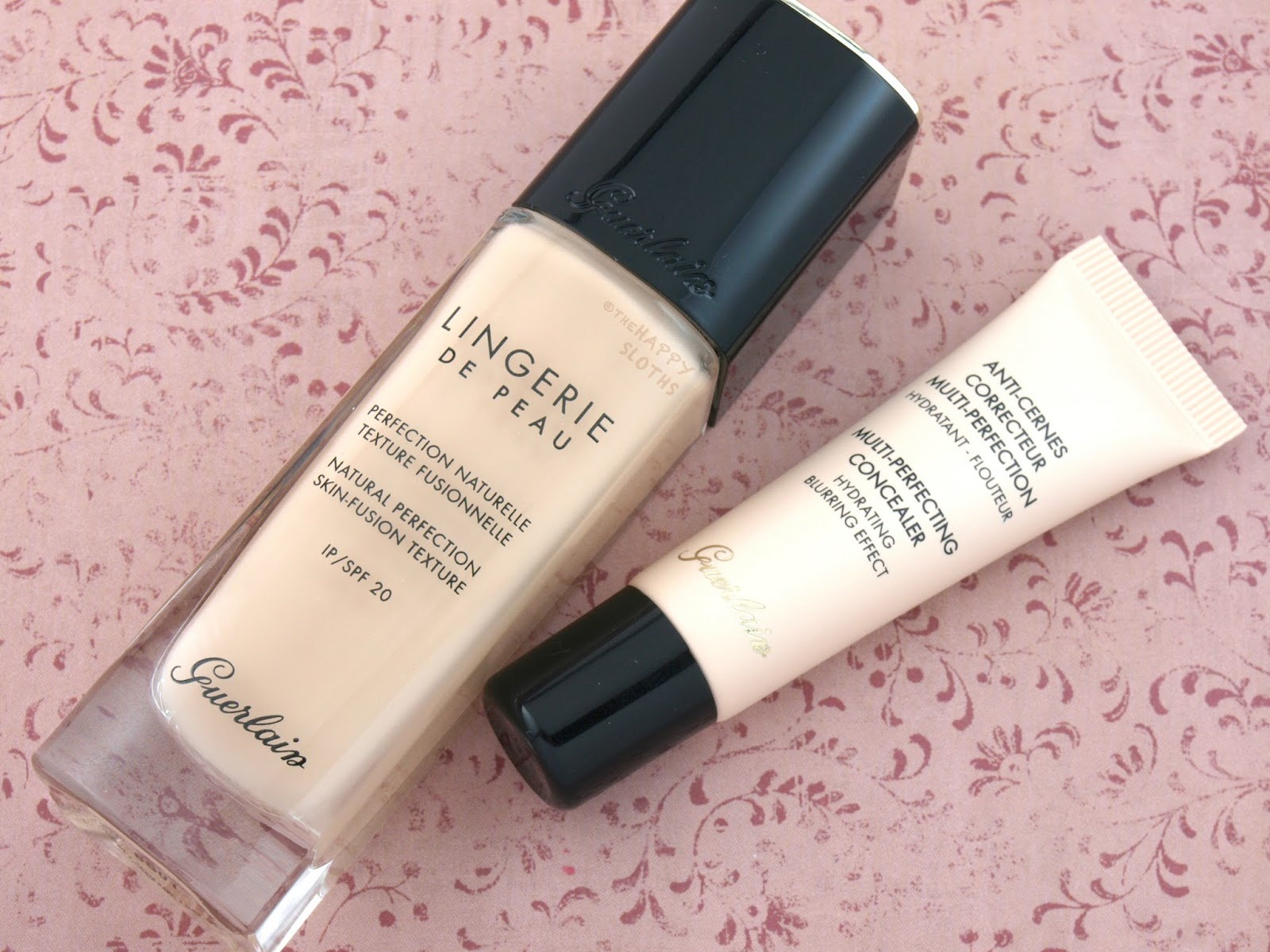 Guerlain Lingerie de Peau Foundation & Multi-Perfecting Concealer: Review and Swatches