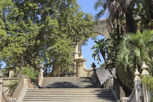 Recanto tropical Jardim da UC -Foto reprodução- Universidade de Coimbra