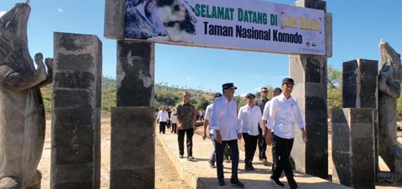 Presiden Jokowi Dukung Integrasi Kawasan Wisata di NTT