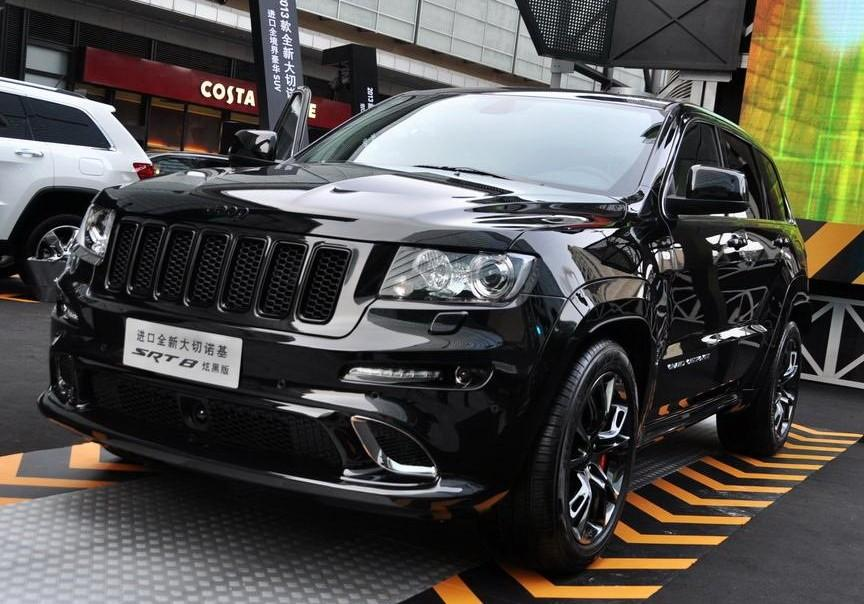 Jeep Grand Cherokee SRT8 for China