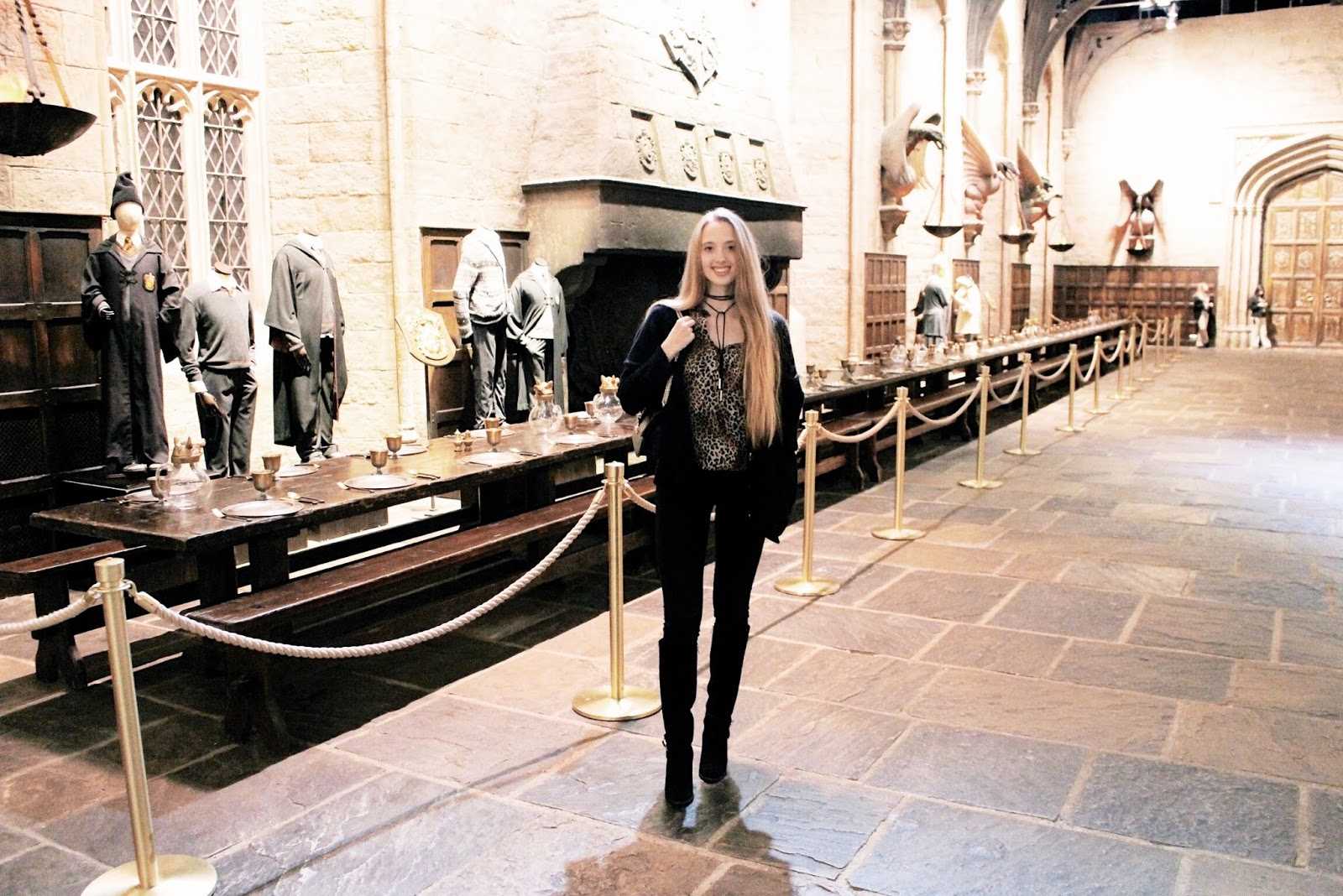 Blog review Harry Potter Studio Tour Grand Hall