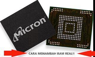 tatacara untuk menaikan RAM android yang benar
