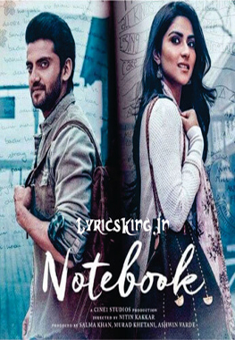 Notebook song lyrics