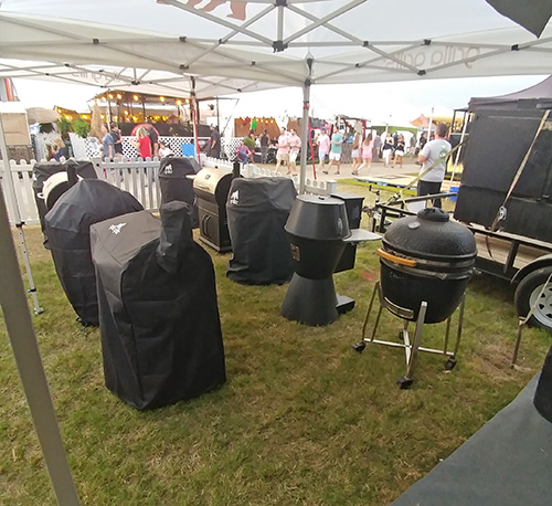 Memphis In May World Championship BBQ Cooking Contest Grilla Grills