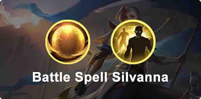 Spell hero Silvanna Mobile Legends