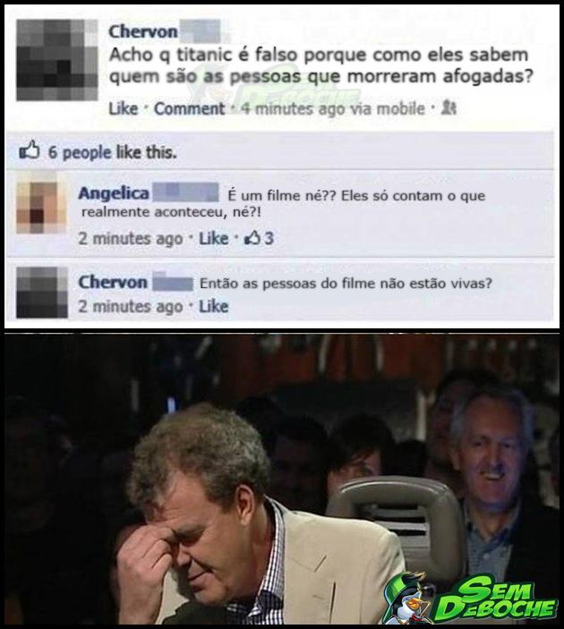 TITANIC FOI UMA FARSA