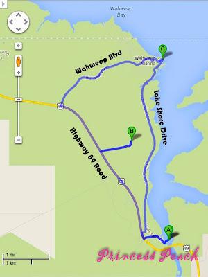 lake-powell-鮑威爾湖玩樂地圖