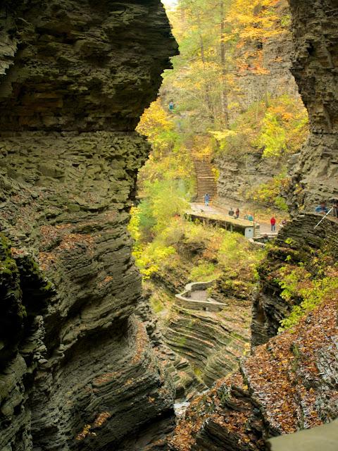 Gorge Trail en Watkins Glen