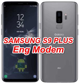 Samsung S9 Plus SCV39 Eng Modem File-Firmware Download