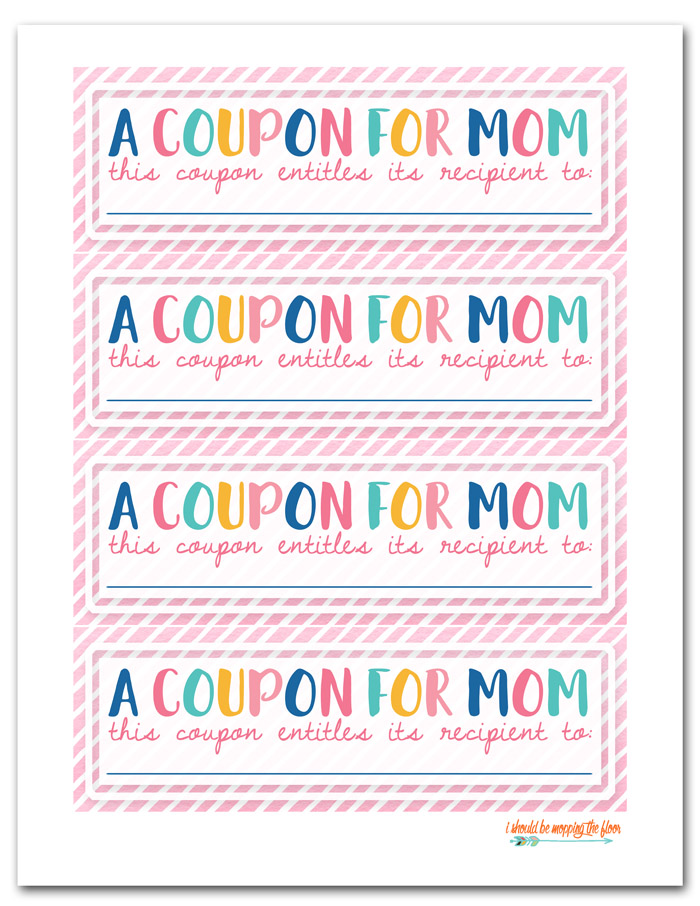 Pink Printable Coupons