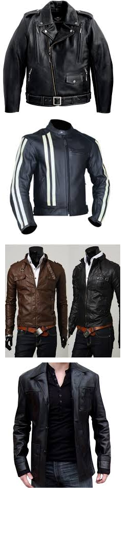 Real leather jackets for men: www.checklistmag.com